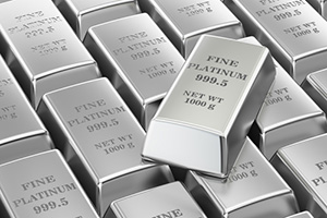 platinum prices in 2017