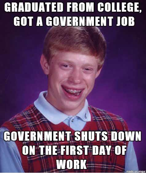 best government shutdown memes