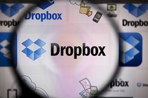 Dropbox stock price