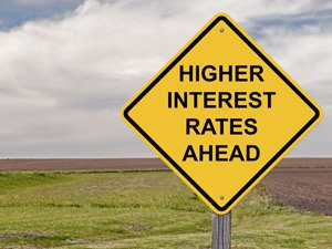 interest rates going up