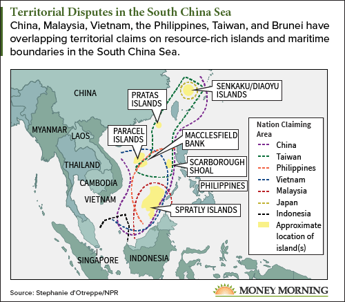 South China Sea war