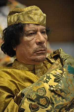Muammar Gaddafi Kim Jong Un