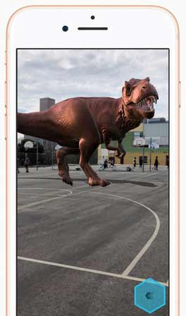 iphone t-rex