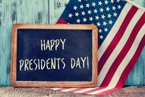 Are the markets closed on President's Day 2018