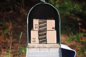 amazon in mailbox