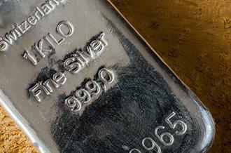piece of fine silver