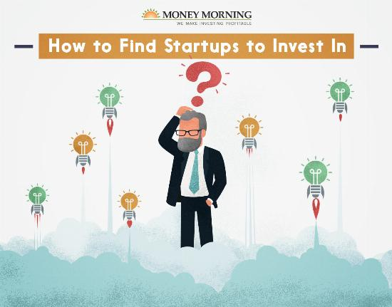 How to find startups to invest in with angel investing graphic